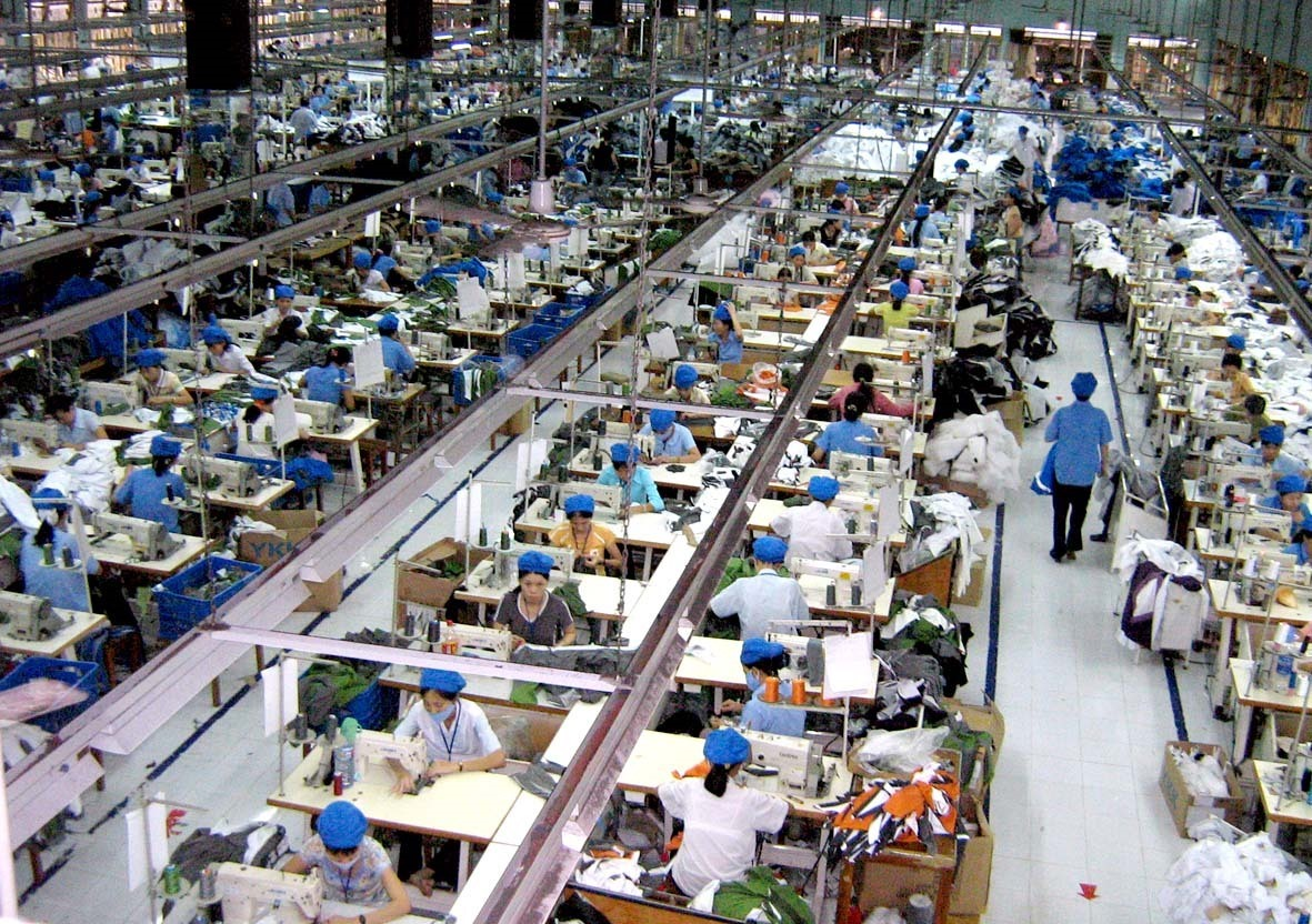 A textile and garment factory in Quang Nam