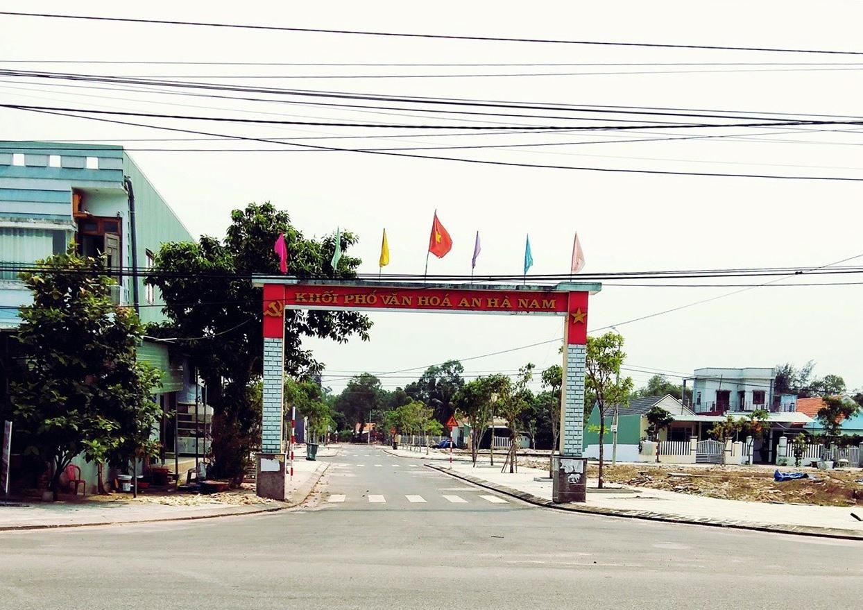 Khu dân cư khối phố An Hà Nam.