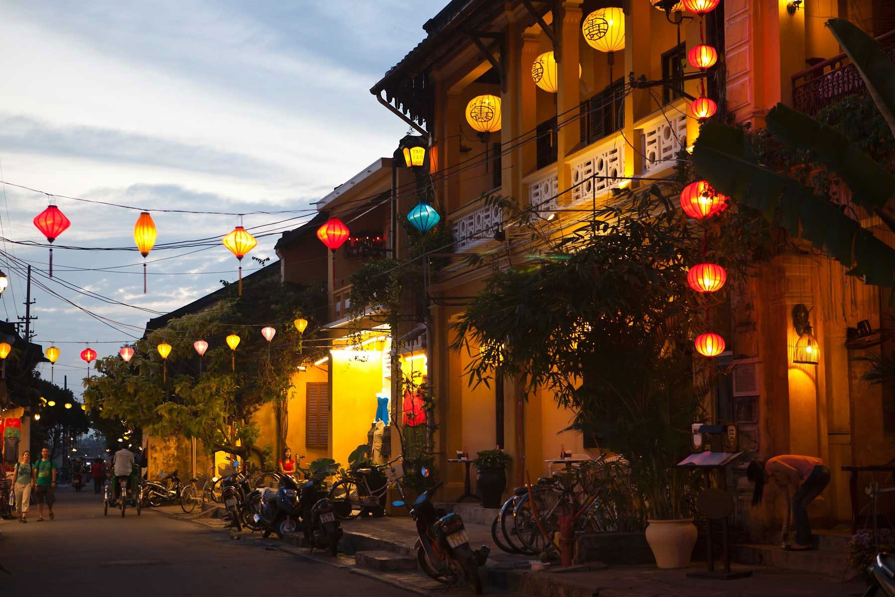 A corner of Hoi An in the late afternoon. Photo: gettyimage