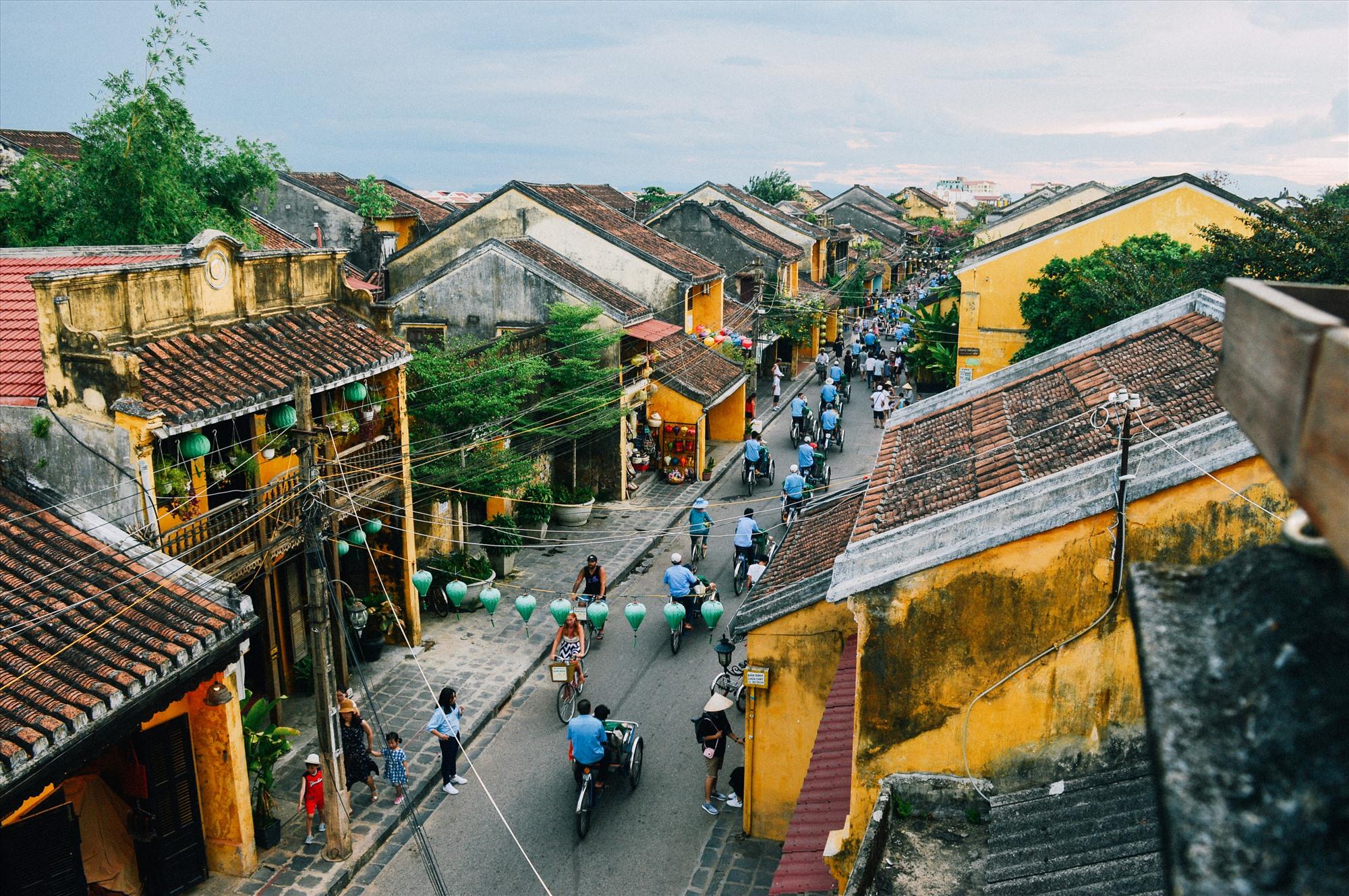 Đô thị cổ Hội An đang phấn đấu trở thành đô thị sinh thái - văn hóa - du lịch. Ảnh: Q.T