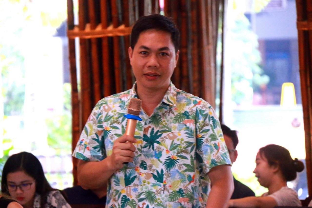 Ông Nguyễn Sơn Thủy - Tổng Thư ký Hiệp hội Du lịch Quảng Nam.