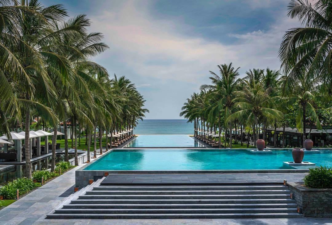 A corner of Four Season Resort The Nam Hai. Photo: fantasea.vn