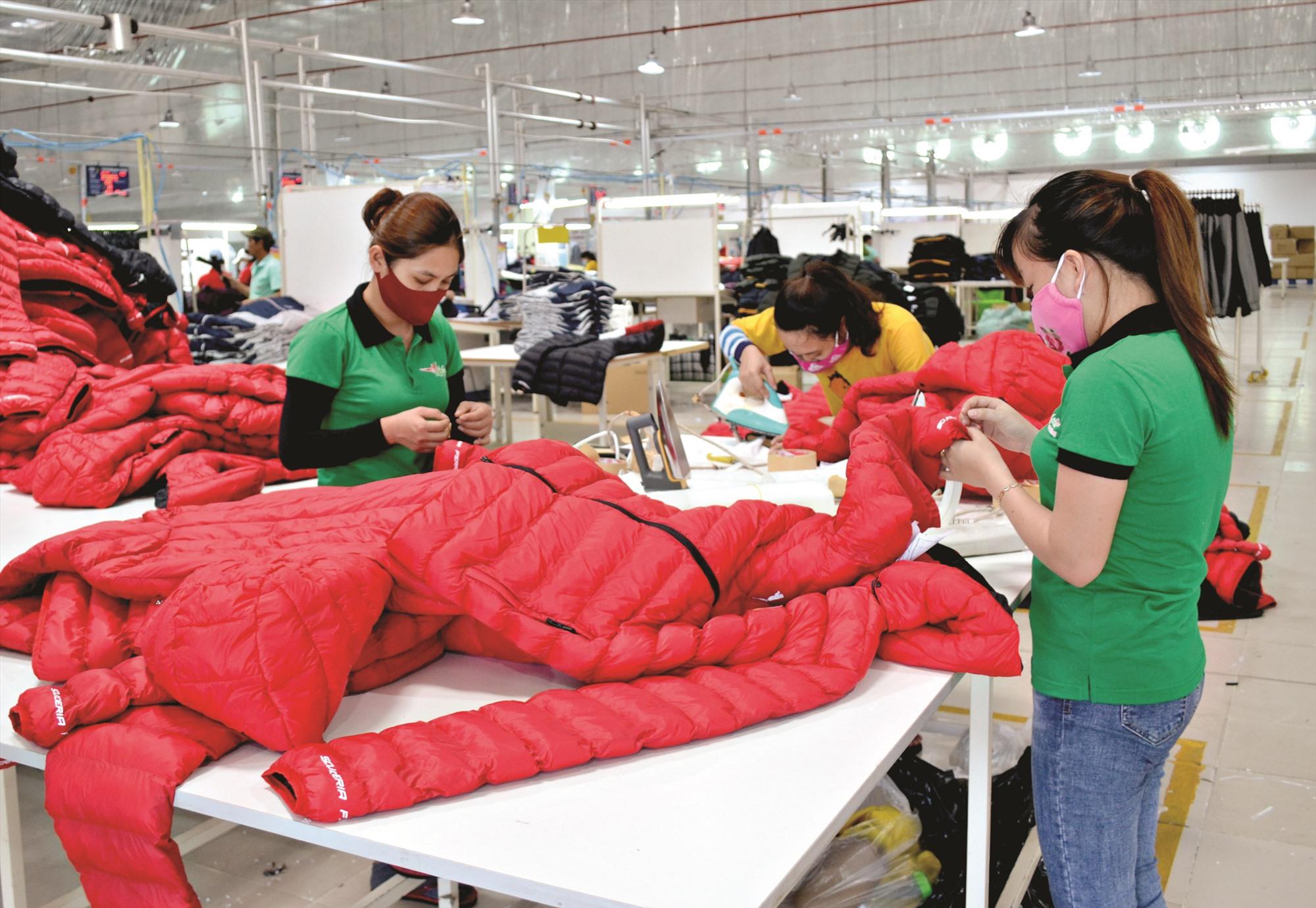 Ngành công nghiệp phát triển khởi sắc ở Thăng Bình. Ảnh: VIỆT NGUYỄN