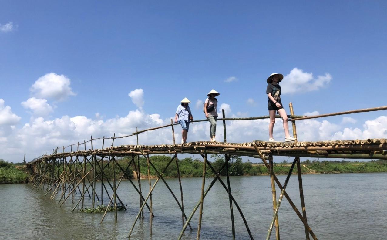 Xã Điện Phong còn lưu giữ nhiều cảnh đẹp làng quê hấp dẫn