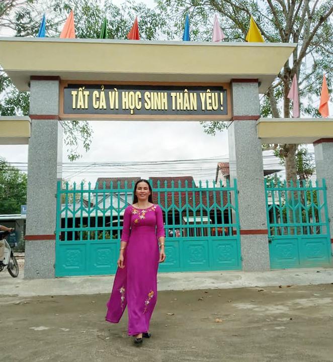 Cô giáo Phạm Thị Sáu. Ảnh: N.S