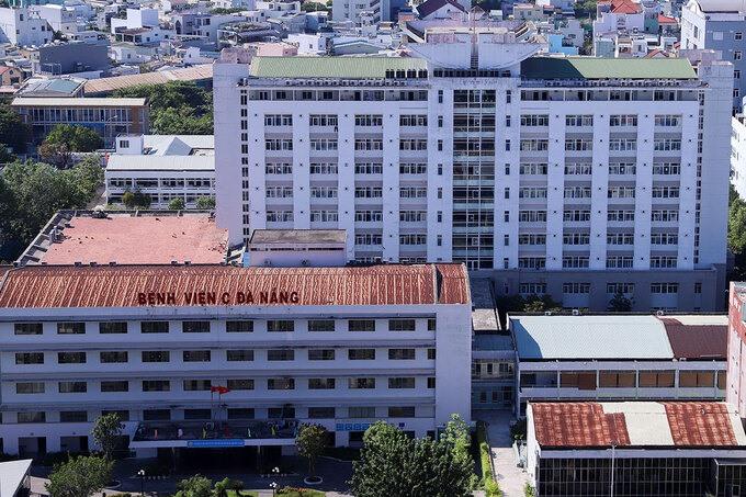 Bệnh viện C Đà Nẵng, nơi bệnh nhân thăm khám và phát hiện dương tính lần đầu với nCoV. Ảnh: NGUYỄN ĐÔNG