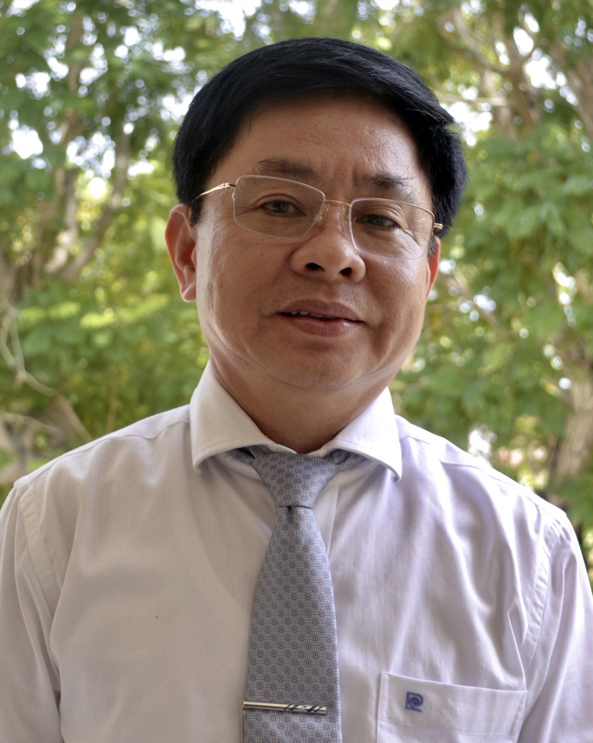 Bí thư Thị ủy Điện Bàn Đặng Hữu Lên.