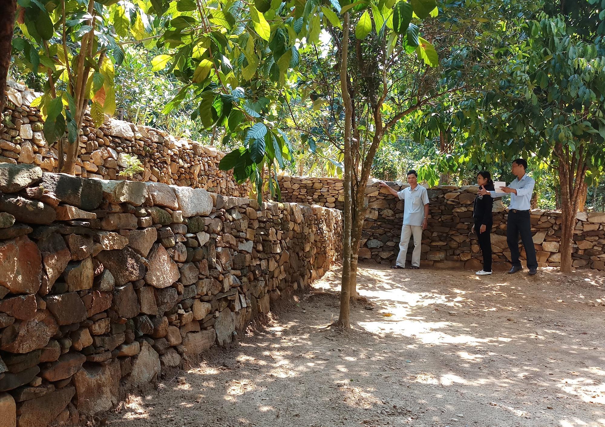 Việc xây dựng cụm dân cư nông thôn mới kiểu mẫu góp phần thay đổi làng quê Tiên Phước theo hướng tích cực. Ảnh: HƯNG HOÀNG