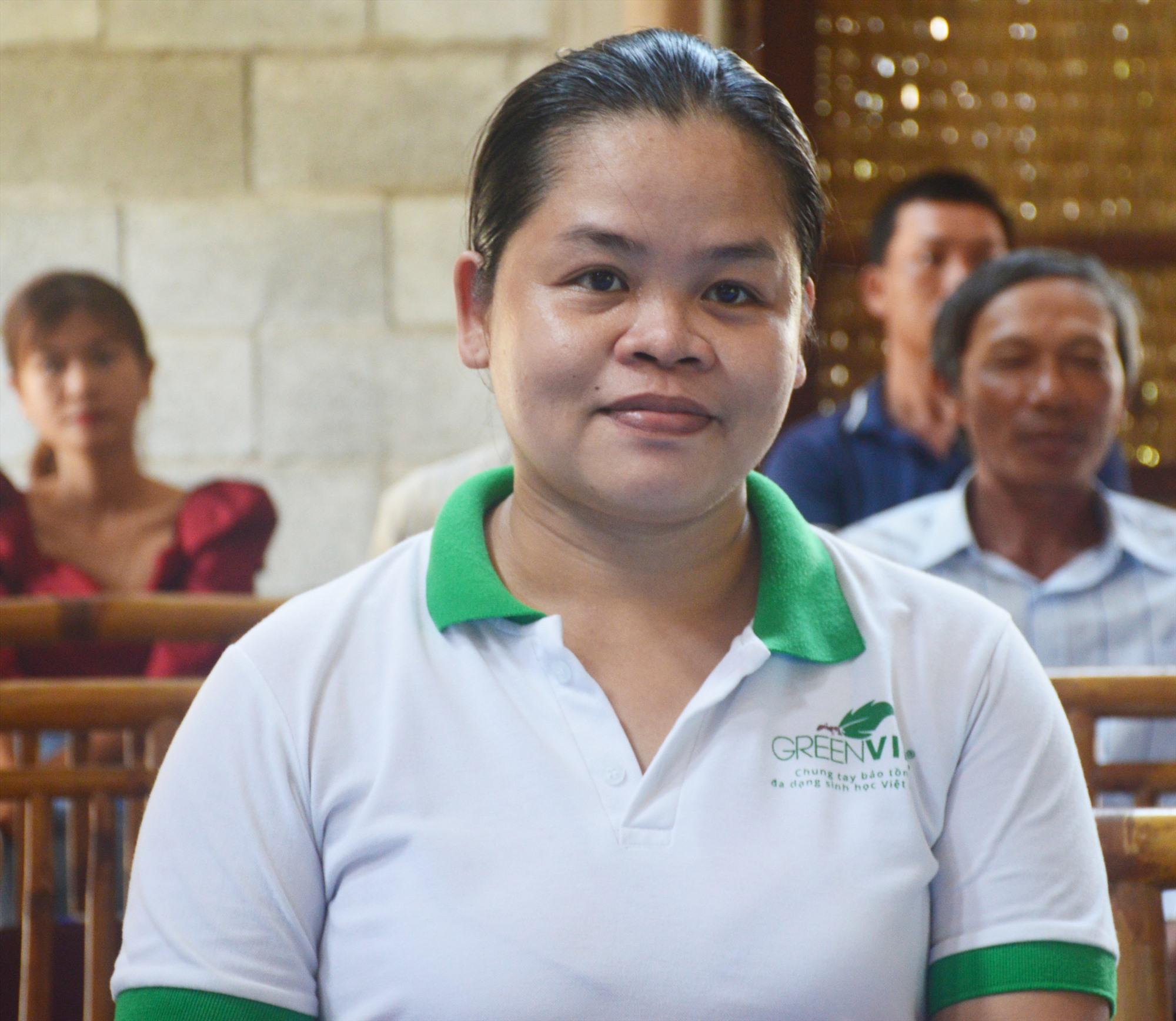 Bà Lê Thị Trang.