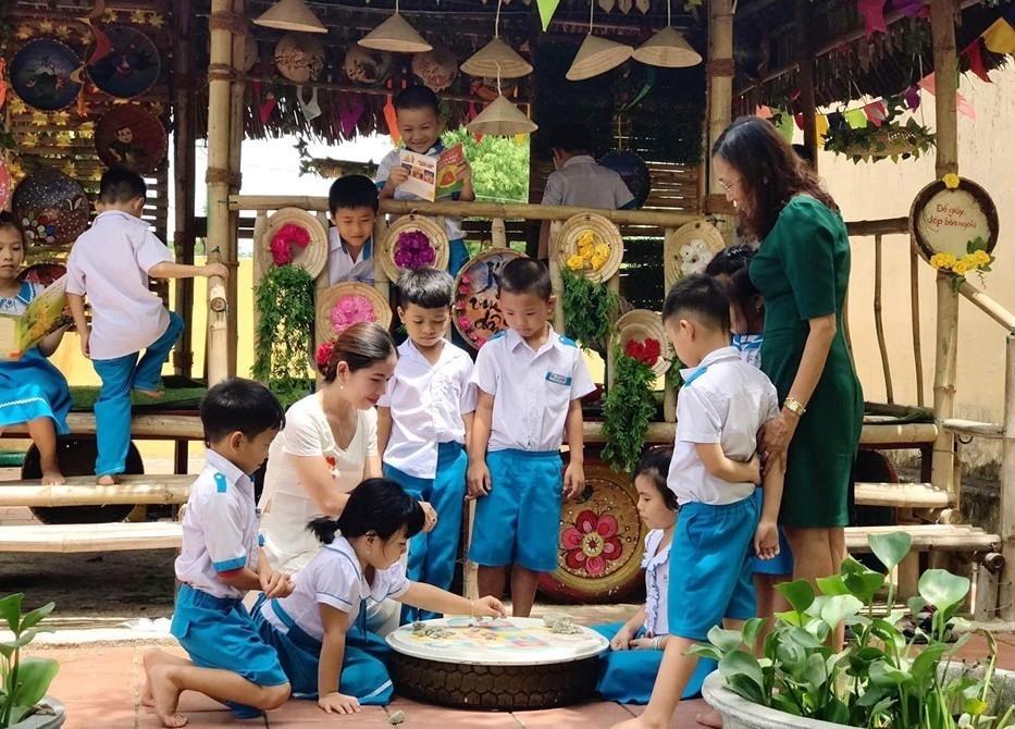 Môi trường thân thiện ở Trường TH Võ Thị Sáu (Phú Ninh). Ảnh: X.THỦY