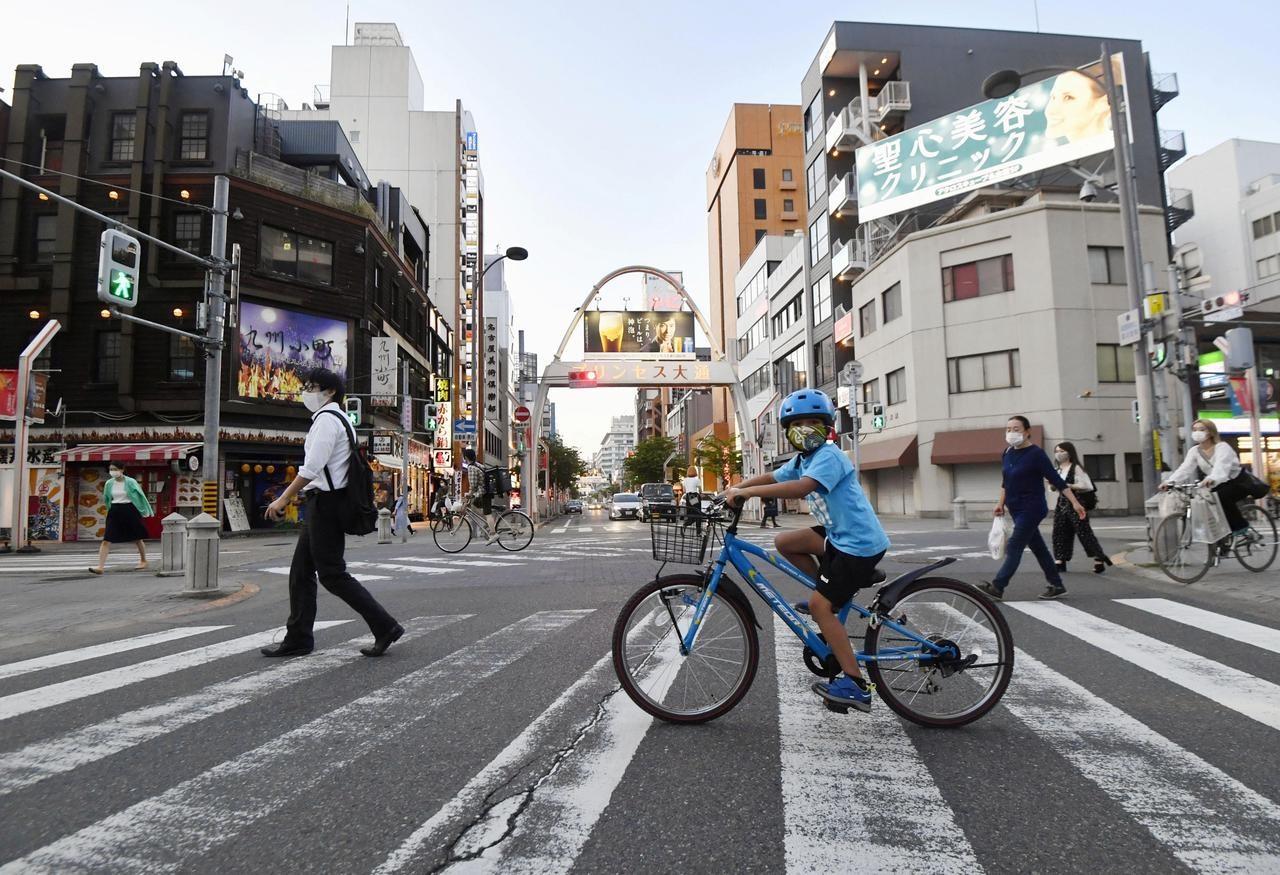 Đường phố Tokyo, Nhật Bản trong những ngày đại dịch Covid-19. Ảnh: Reuters