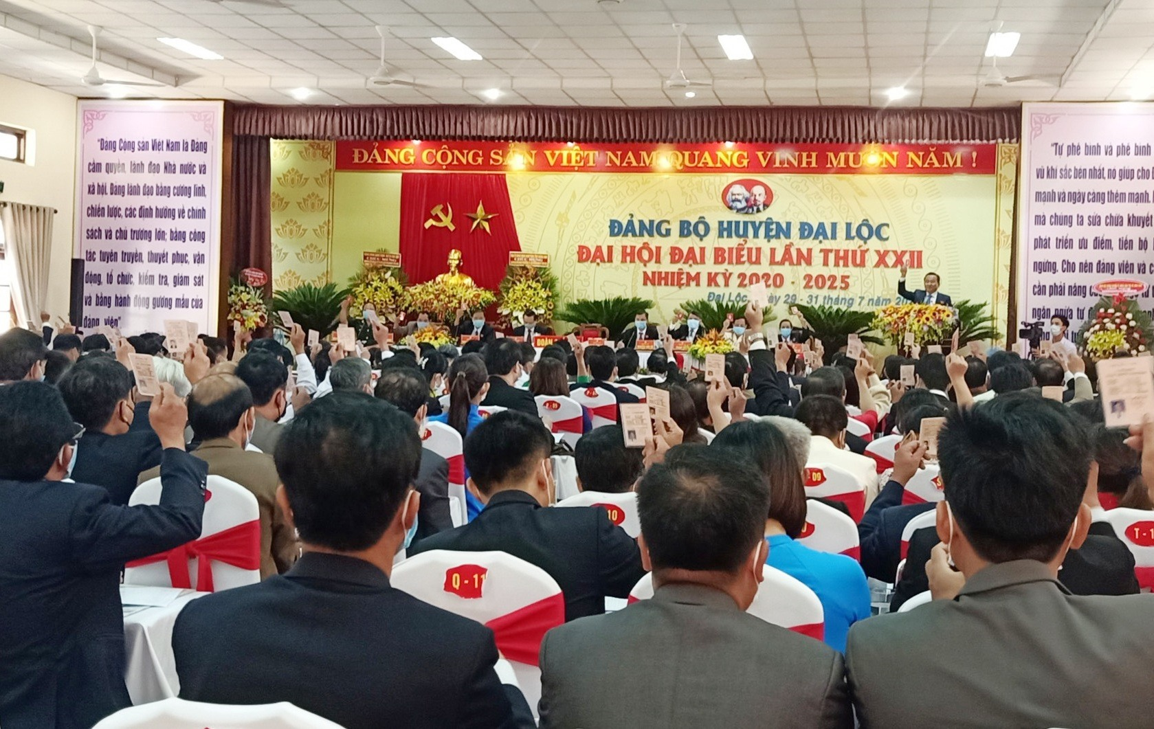Ông Nguyễn Công Thanh tái đắc cử Bí thư Huyện ủy Đại Lộc