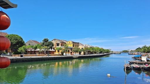 Hoi An ancient quarter in the social distancing period