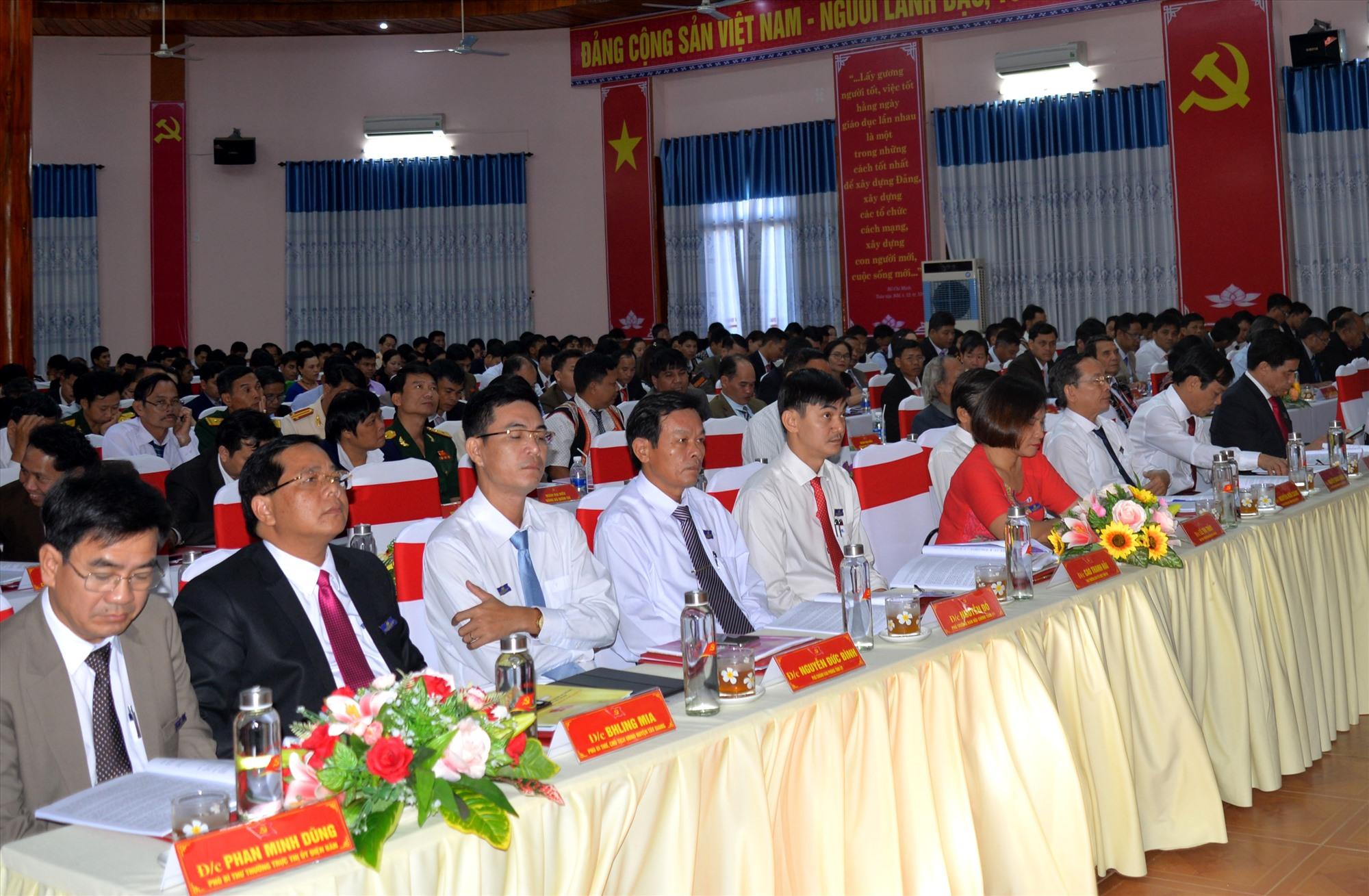Các đại biểu tham dự đại hội. Ảnh: A.N