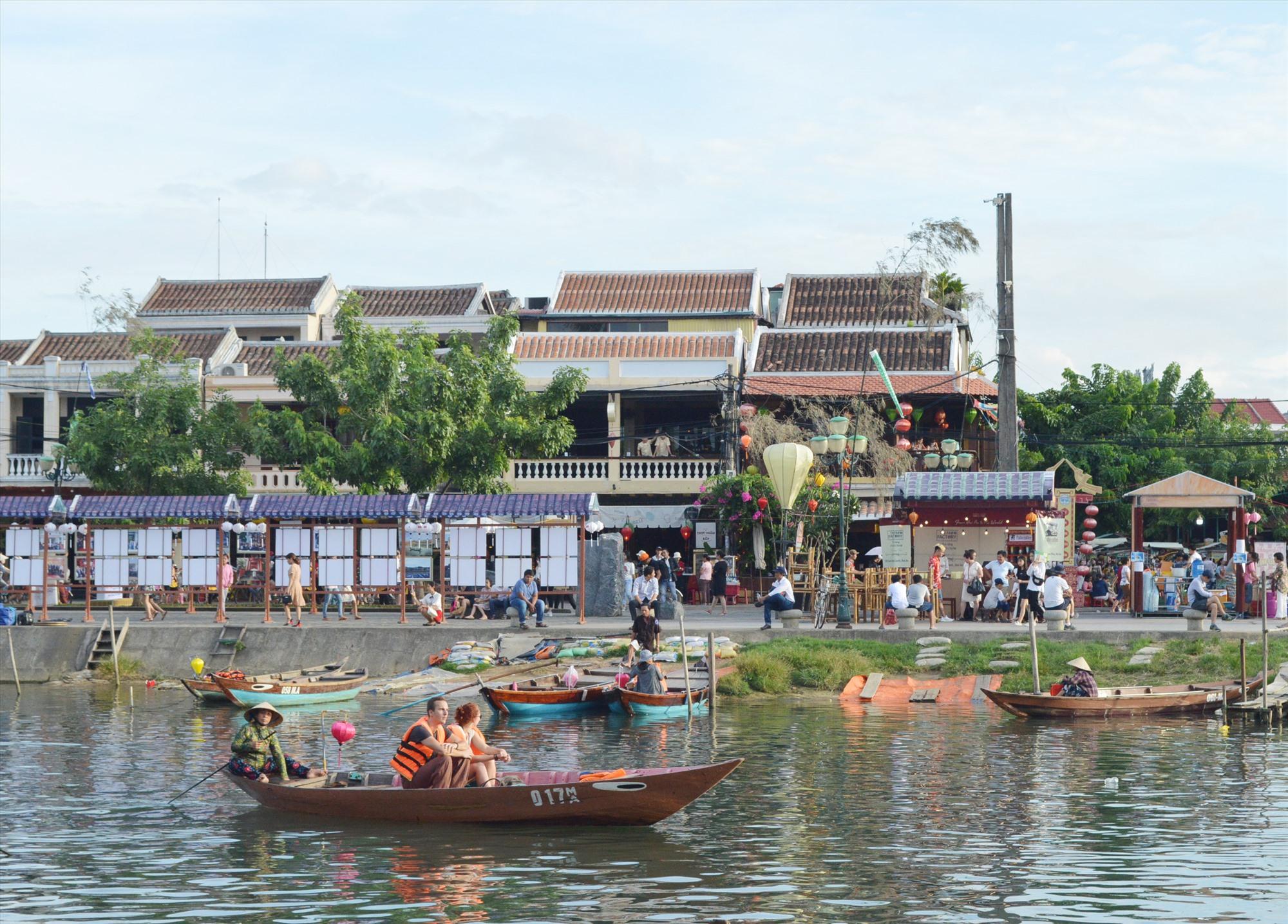 Du lịch Quảng Nam đã xác định vị trí trên bản đồ du lịch Việt Nam. Ành: V.LỘC