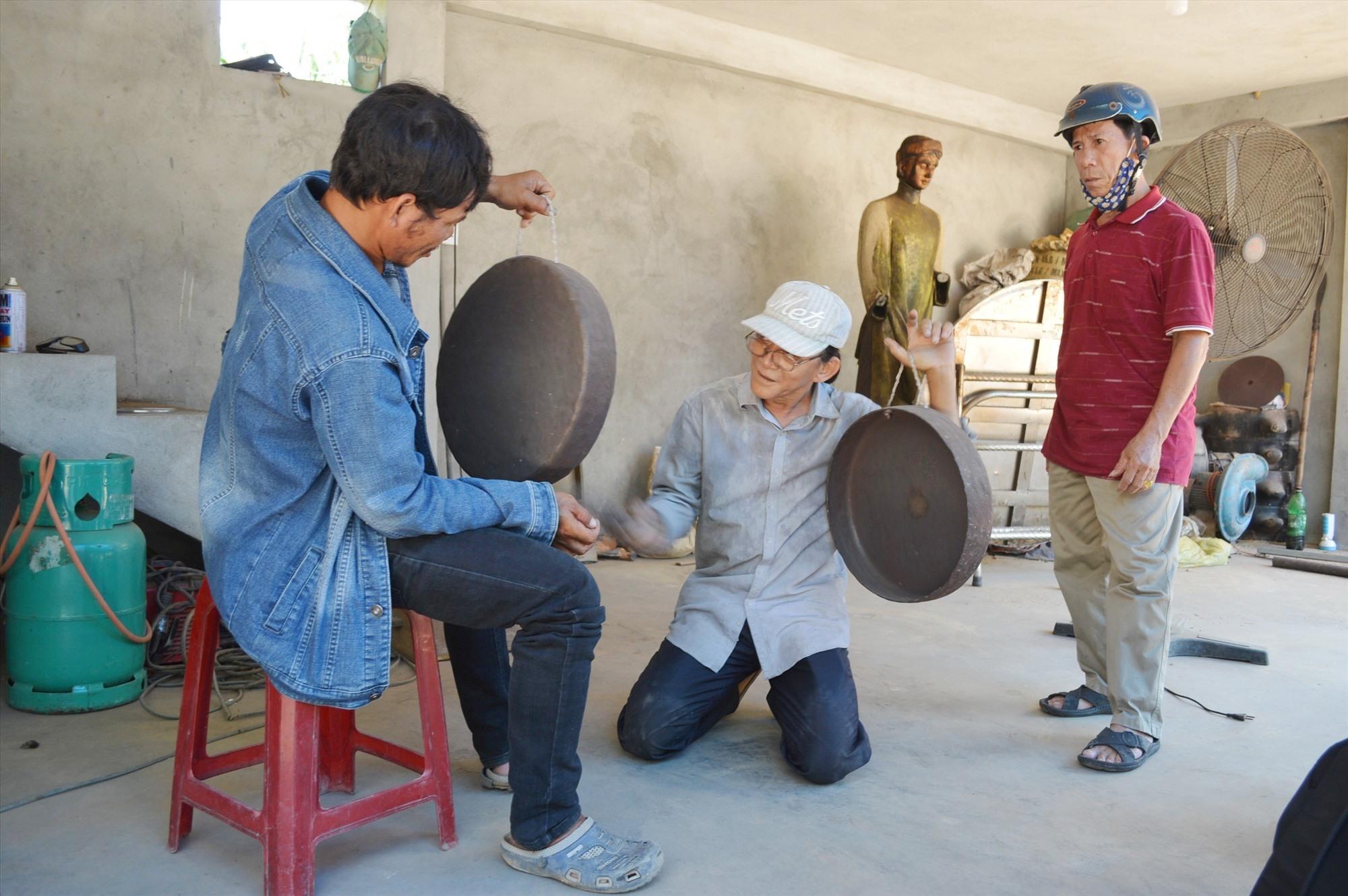Các làng nghề truyền thống dược xem là một lợi thế trong phát triển du lịch Điện Bàn