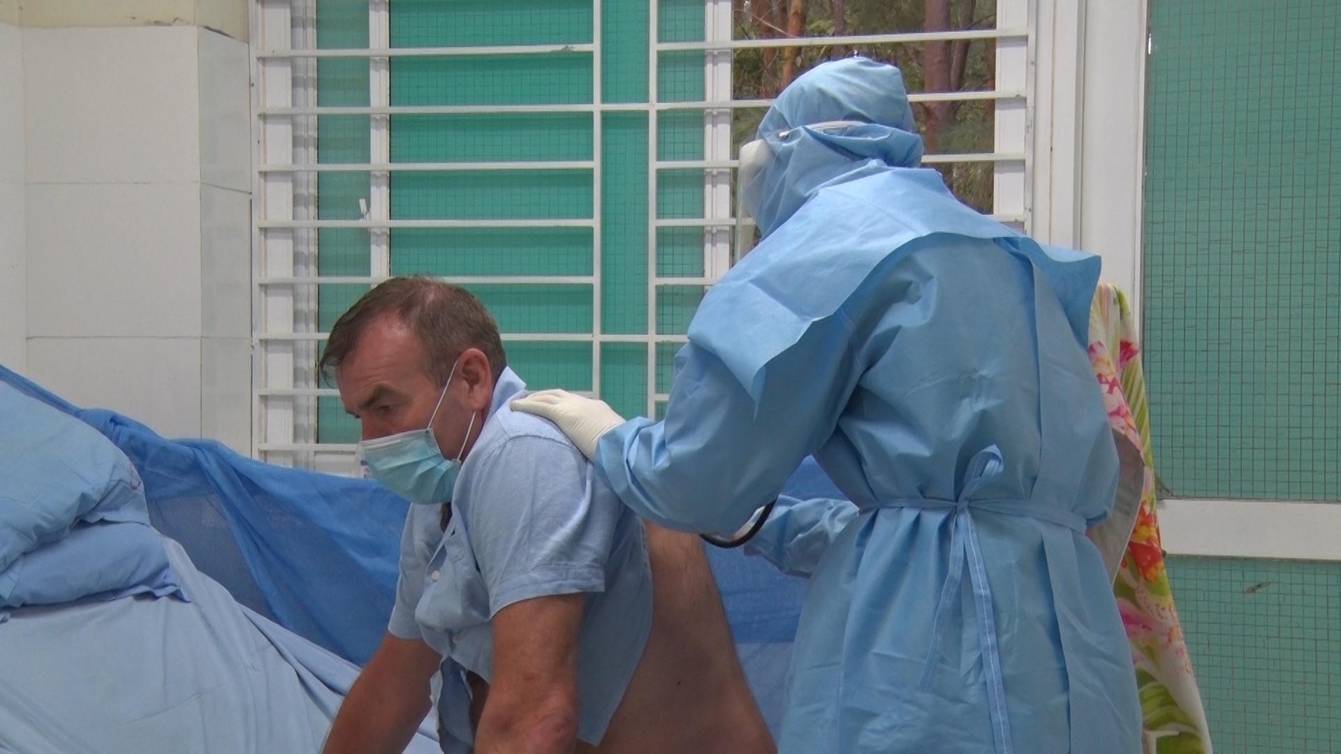 Kể từ ngày 1.8, Bệnh viện Đa khoa Trung ương Quảng Nam sẽ tiếp nhận, điều trị các ca bệnh dương tính với SARS-CoV-2 cho Quảng Nam và các tỉnh lân cận. Ảnh: ĐOÀN ĐẠO