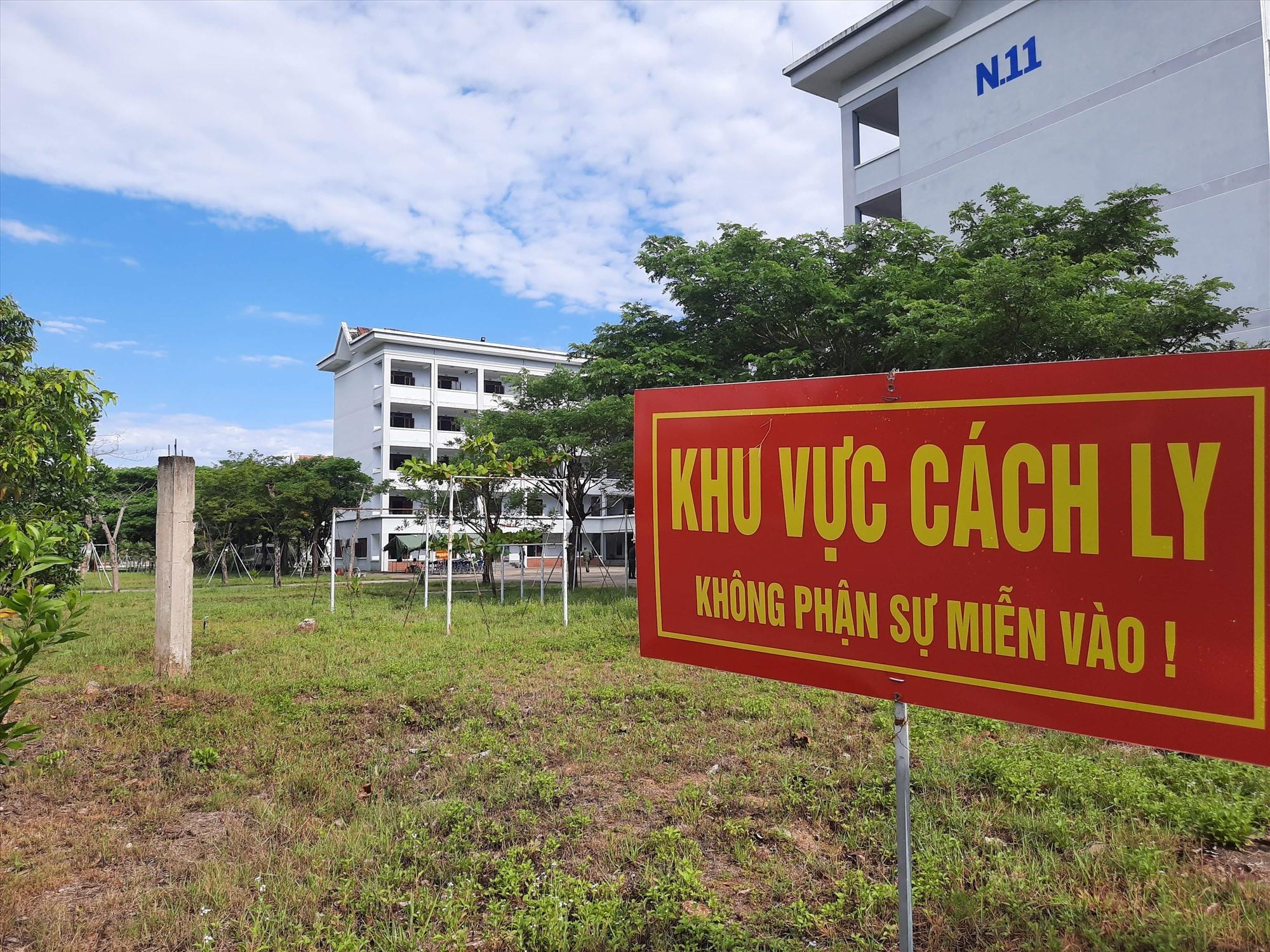Quảng Nam hiện có 71 điểm cách ly tập trung. Ảnh: X.H