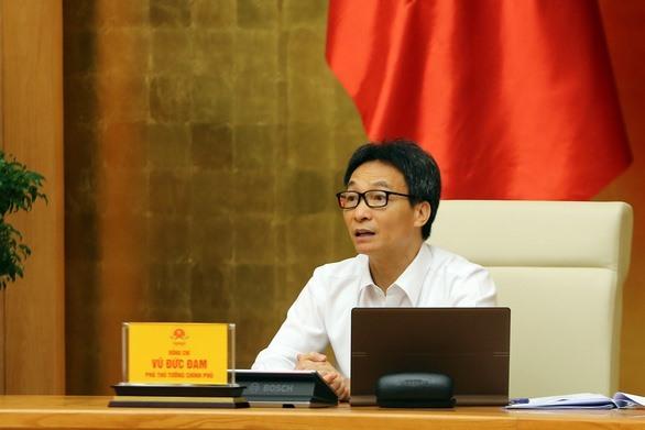 Deputy Prime Minister Vu Duc Dam at the meeting. Photo: VGP