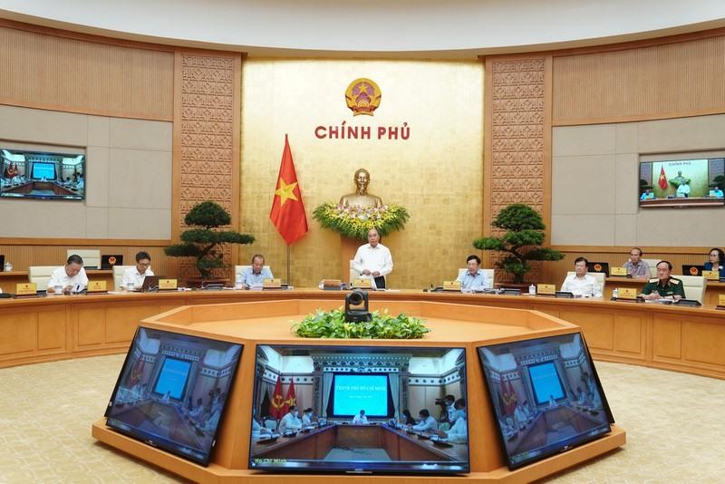 hủ tướng Nguyễn Xuân Phúc chủ trì Hội nghị - Ảnh: VGP/Quang Hiếu.