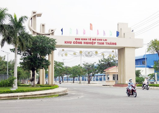 Tam Thang Industrial Park, Quang Nam province.