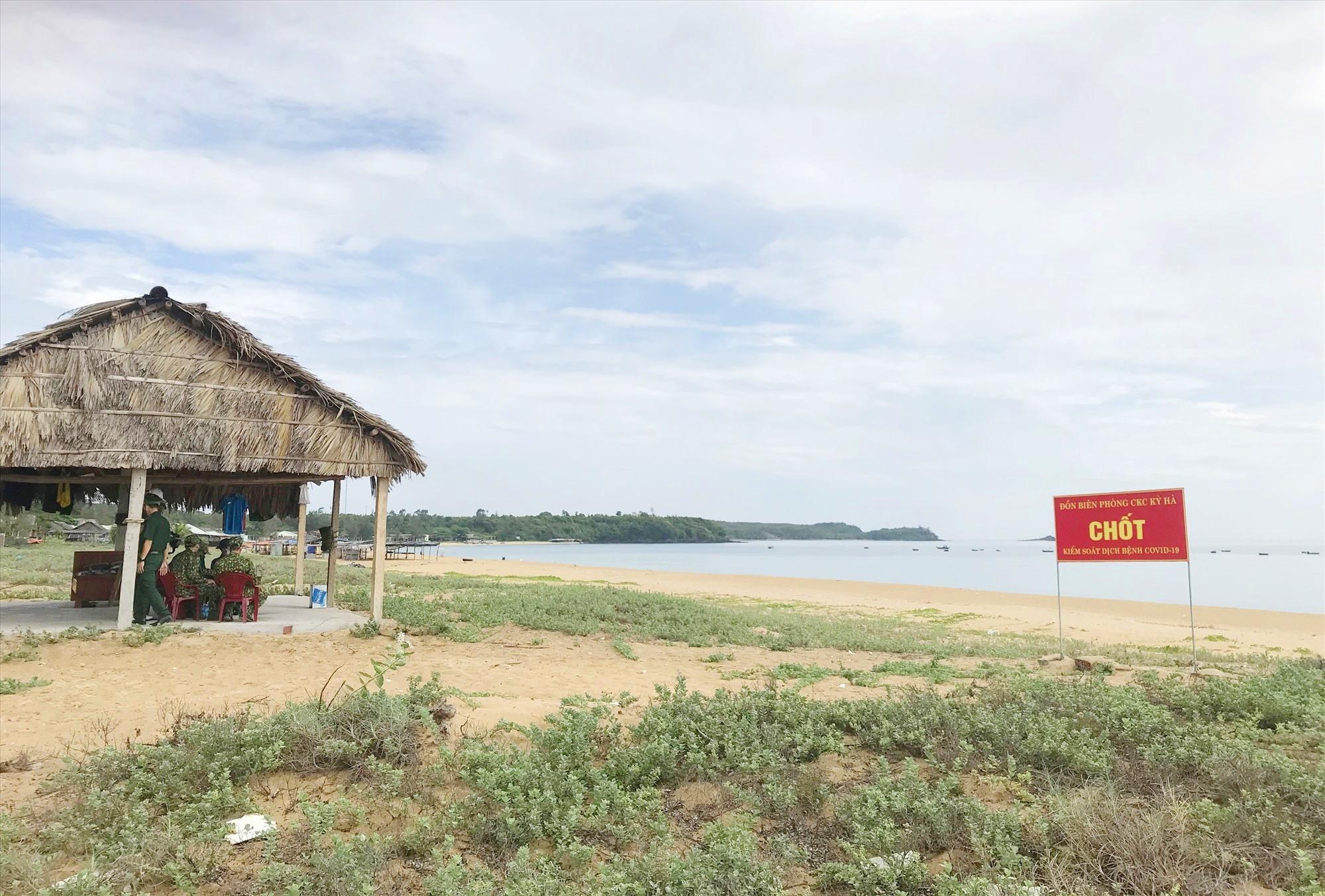 Đồn Biên phòng cửa khẩu cảng Kỳ Hà