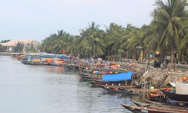 Deserted wharf in Hoi An
