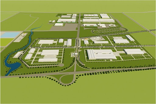 Perspective of Chu Lai Agro- Forestry Industrial Park project