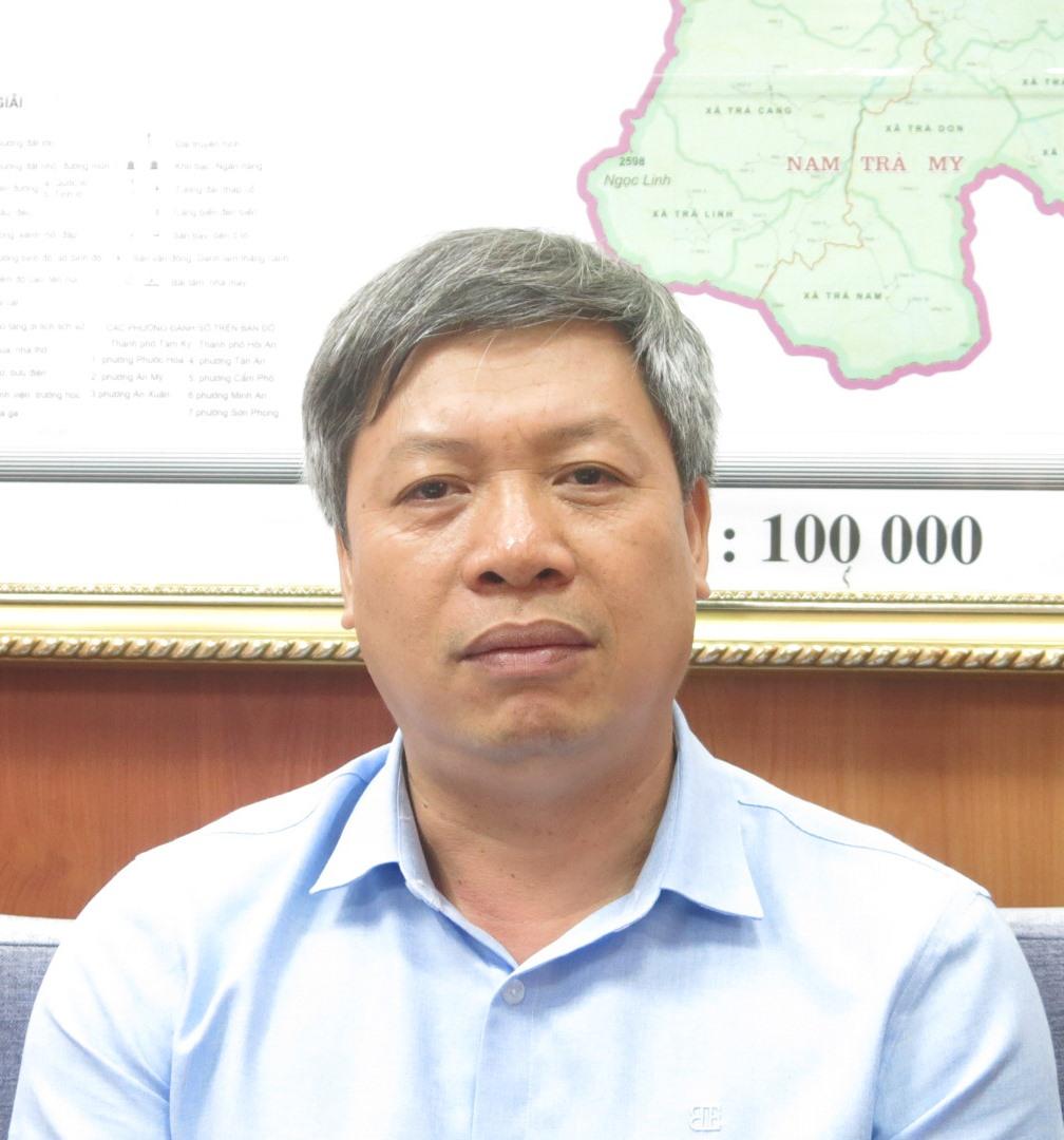 Ông Hồ Quang Bửu - Phó Chủ tịch UBND tỉnh Quảng Nam.