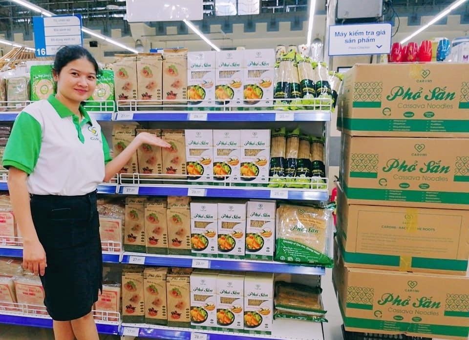 Chị Lê Thị Kim Ánh - người đồng sáng lập Công ty CP Caromi. Ảnh: Nhân vật cung cấp