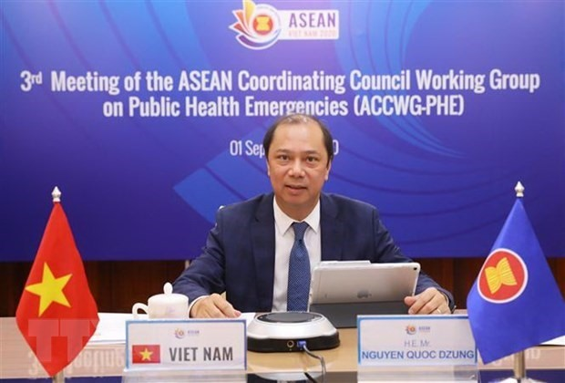 Vietnamese Deputy Foreign Minister and head of SOM ASEAN-Vietnam Nguyen Quoc Dung (Photo: VNA)
