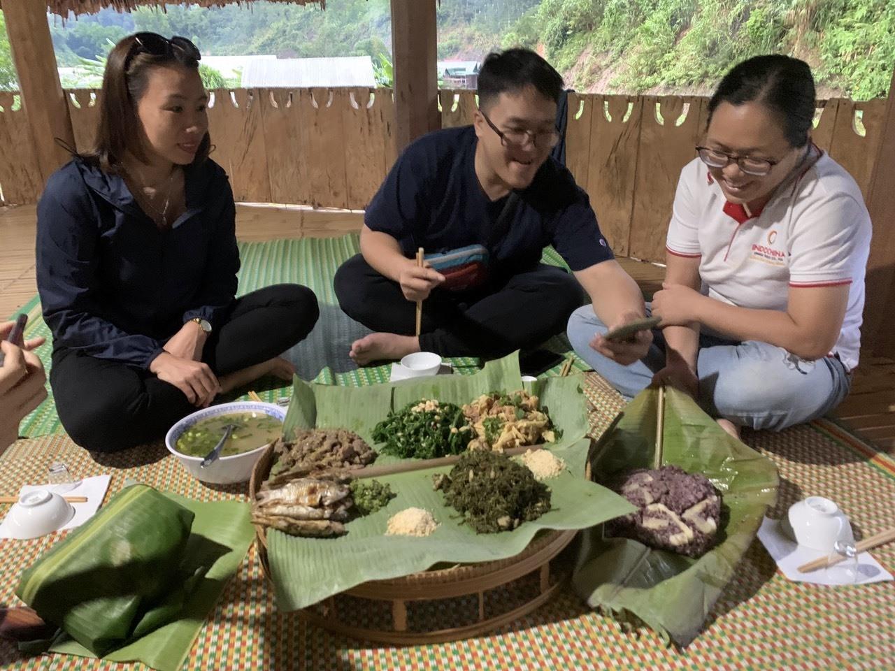 Văn hóa ẩm thực Cơ Tu cũng sẽ là một sản phẩm du lịch hấp dẫn