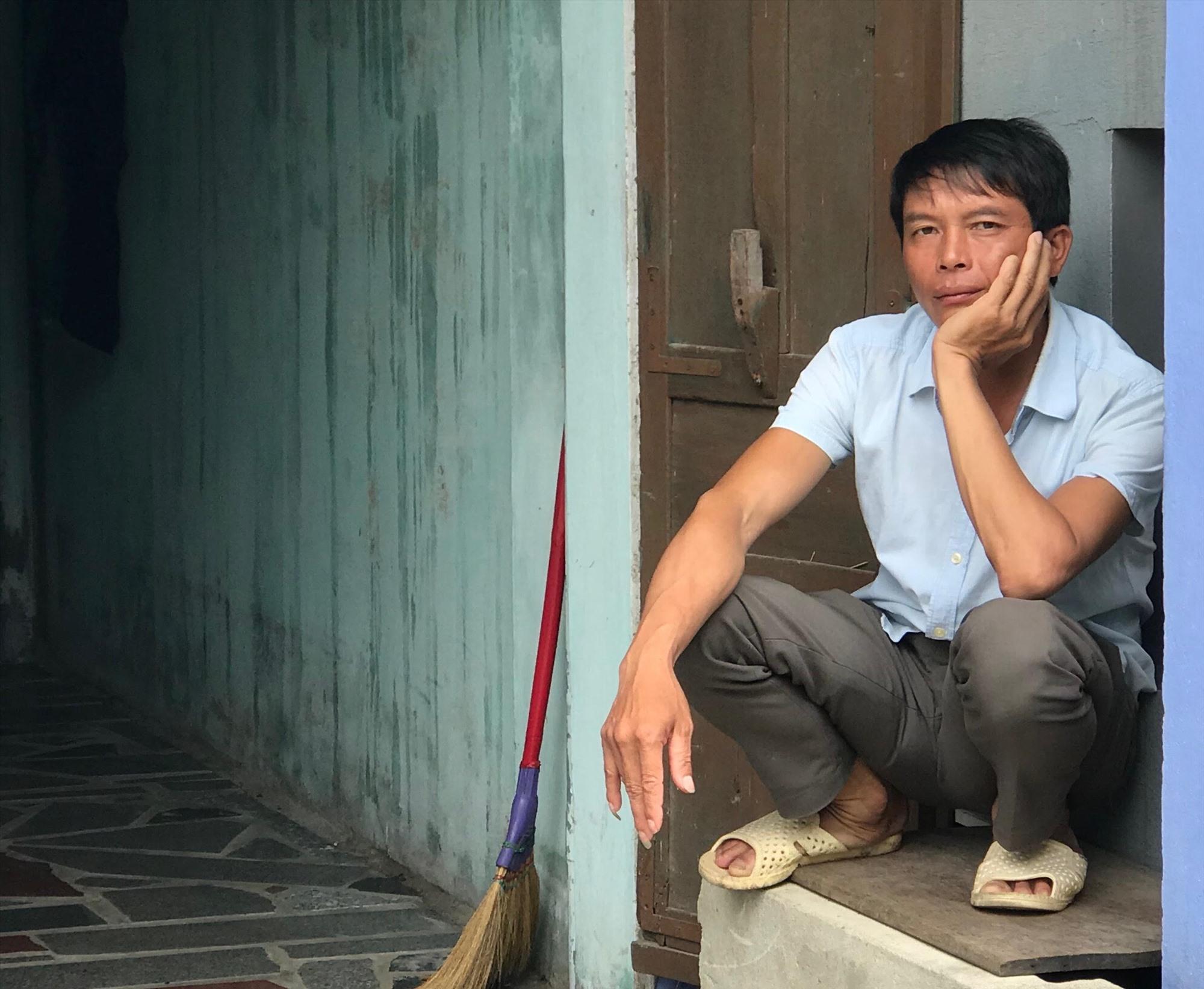 Ánh mắt đờ dại của Lò Văn Lý trong những ngày bị mắc kẹt ở tâm dịch Đà Nẵng Ảnh: Tường Minh