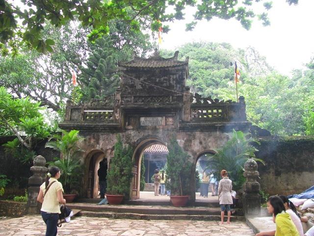 Chùa Tam Thai trên Ngũ Hành Sơn. Ảnh: Internet