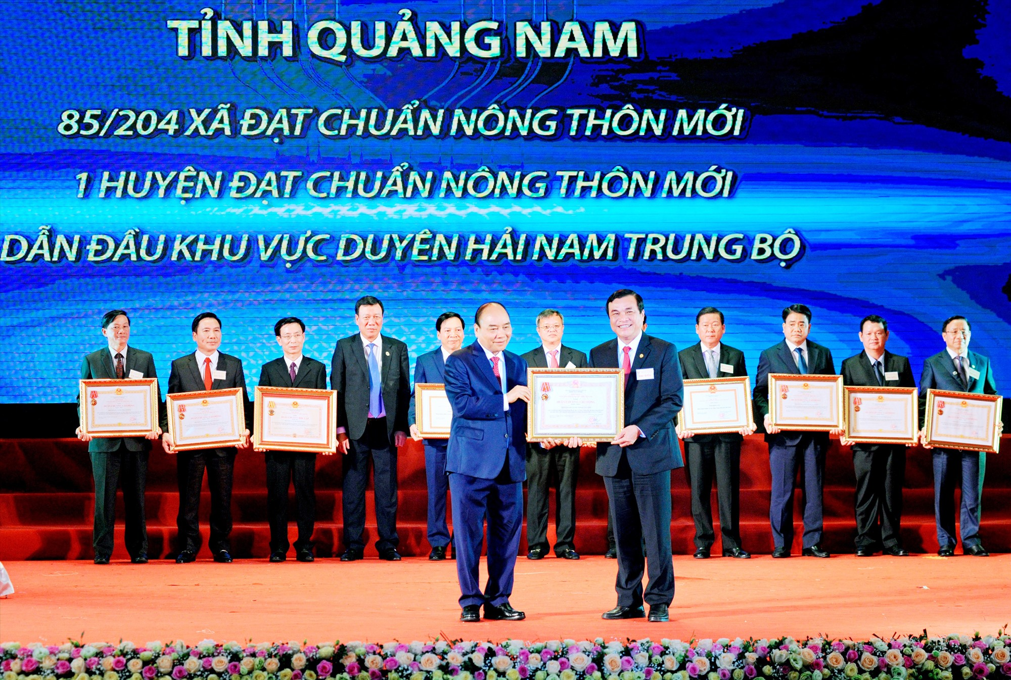 ĐẠI HỘI THI ĐUA YÊU NƯỚC TỈNH LẦN THỨ VIII (2020 - 2025): Vì mục tiêu phát triển Quảng Nam