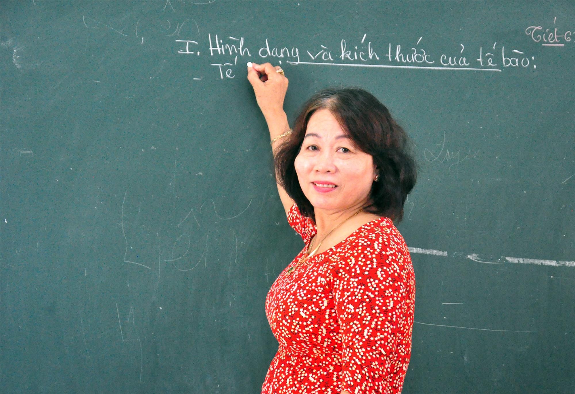 Cô Nguyễn Thị Kim Hà. Ảnh: VINH ANH