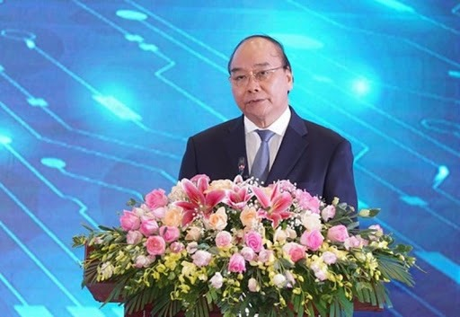 Prime Minister Nguyen Xuan Phuc at the ceremony. Photo: sggp.com.vn