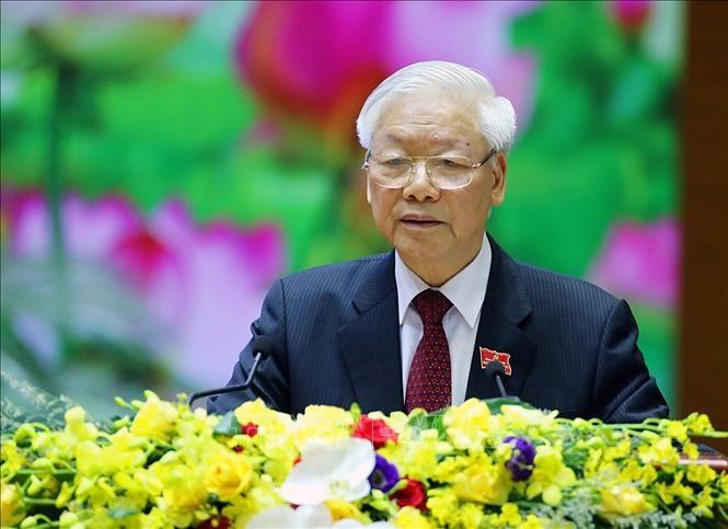 Tổng Bí thư, Chủ tịch nước Nguyễn Phú Trọng. Ảnh: Dương Giang/TTXVN