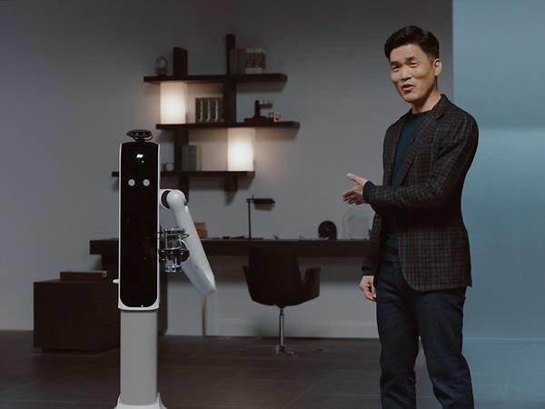 Samsung đang phát hành ba robot mới giúp dọn dẹp nhà cửa, làm trợ lý cá nhân, hút bụi và cũng hoạt động như một camera an ninh. Ảnh: Samsung