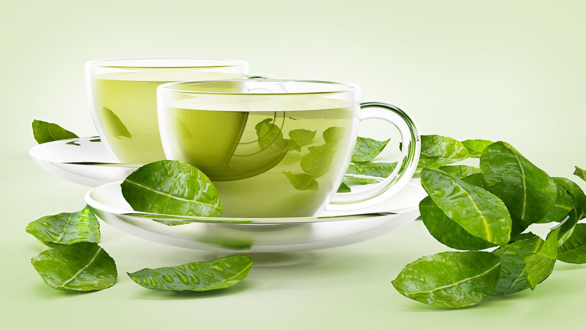 Trà xanh là lá trà hoàn toàn không trải qua quá trình lên men