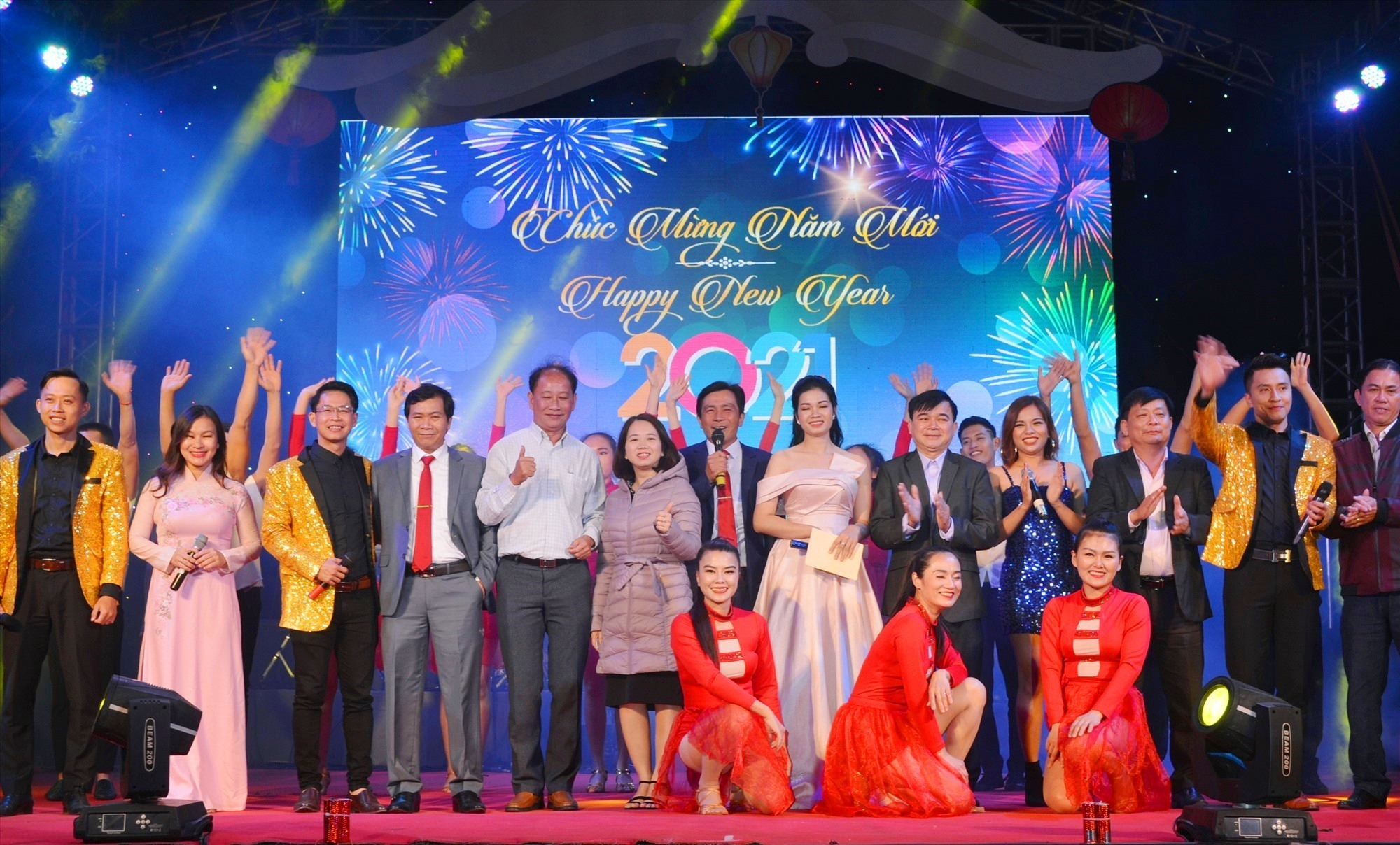 """Happy New Year 2021"" programme in Hoi An"