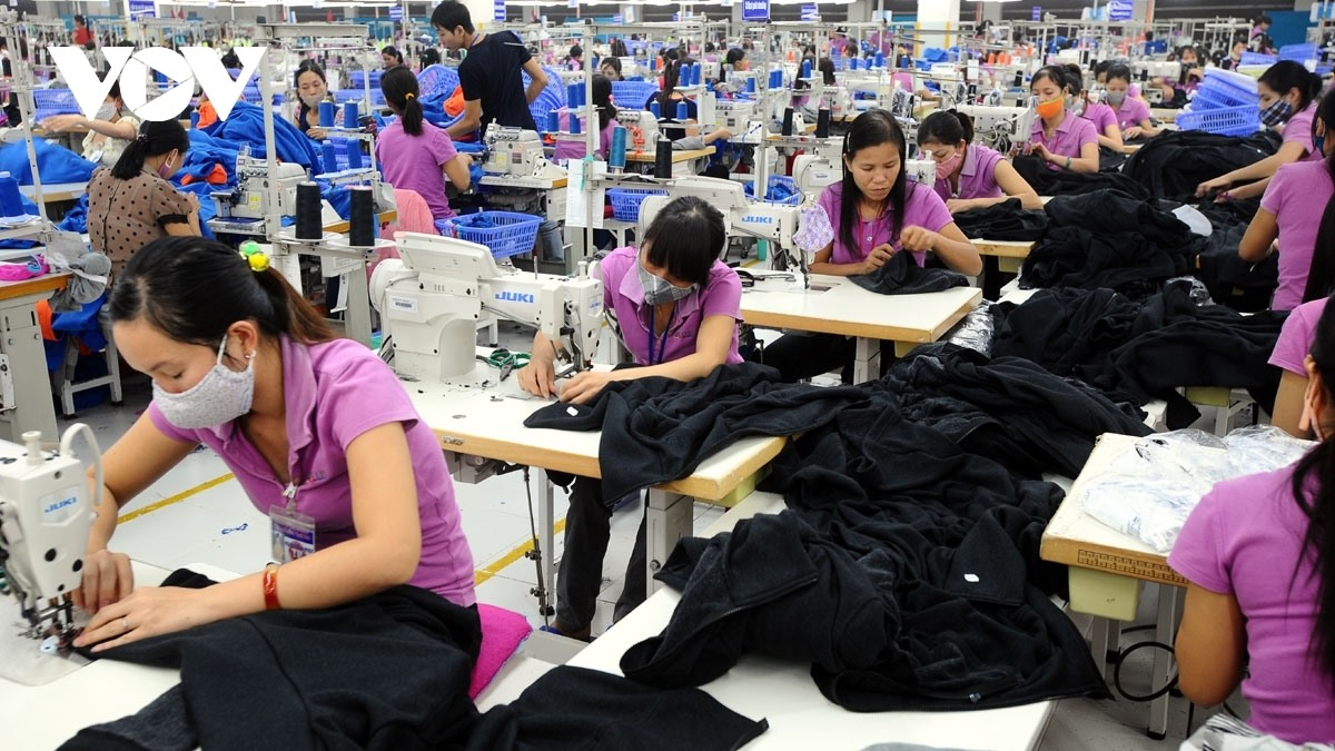 The UK primarily imports from apparel products from Vietnam