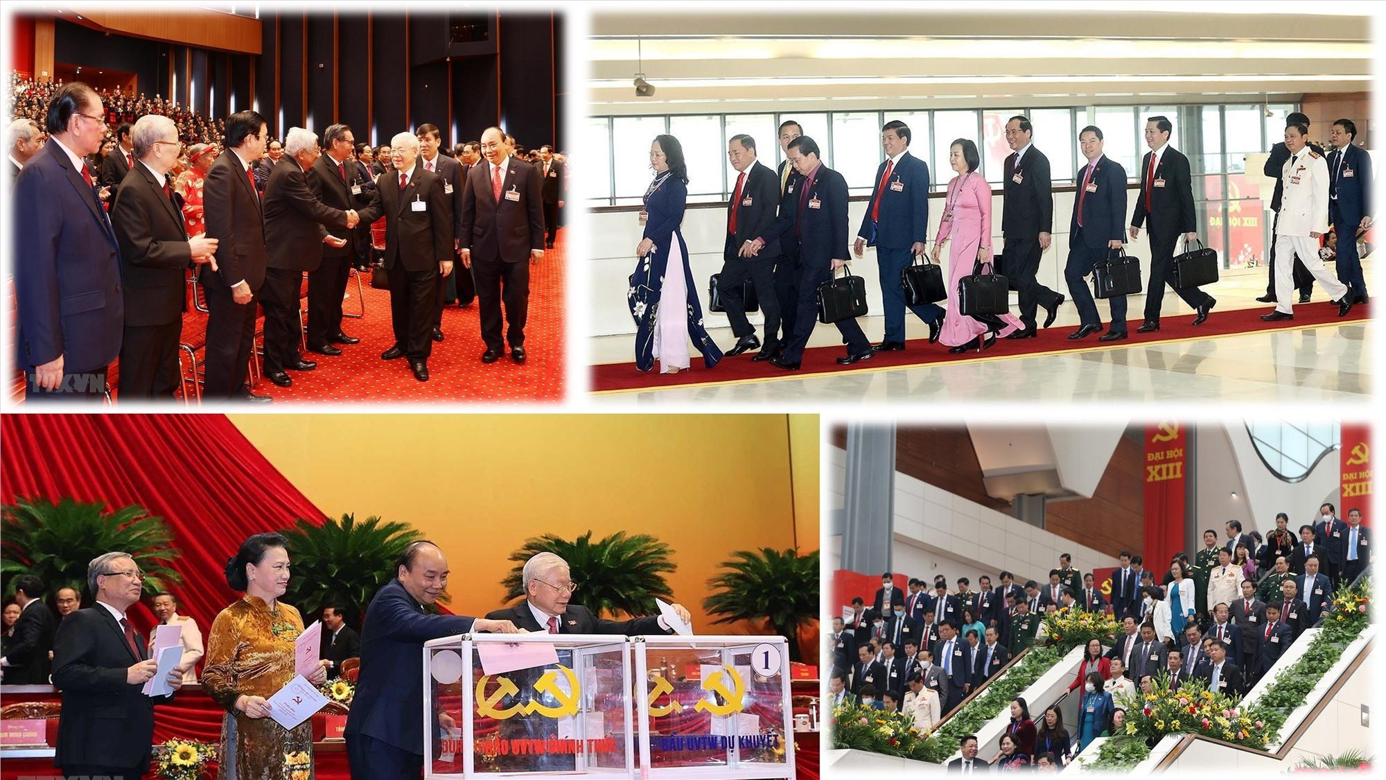 Một số hình ảnh tại Đại hội XIII của Đảng