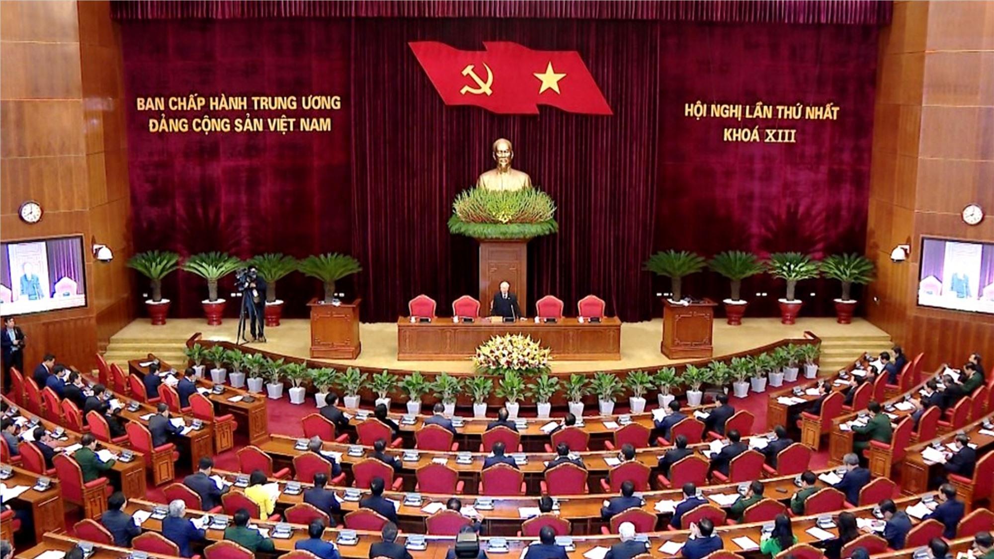 Hội nghị lần thứ nhất Ban Chấp hành Trung ương Khóa XIII