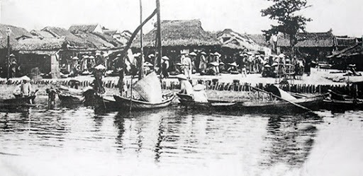 Hoi An trading port in the early 18th century