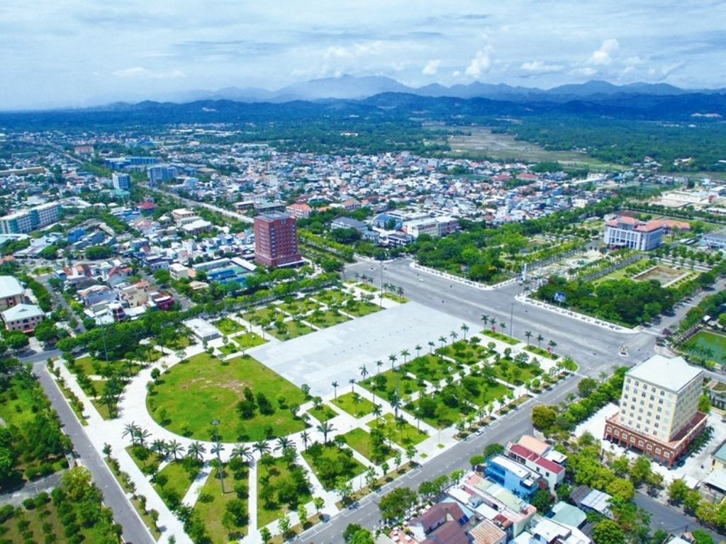 Tam Ky city- Quang Nam province. Photo:congthuong.vn