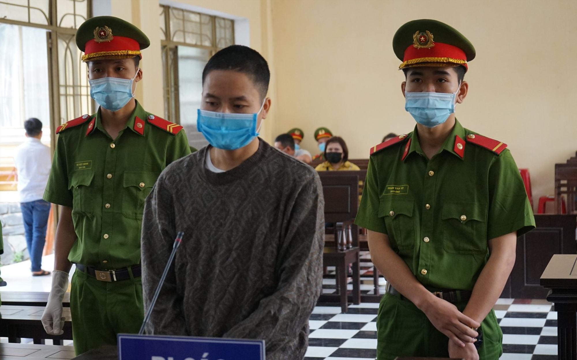 Lò Văn Lợi tại phiên xét xử