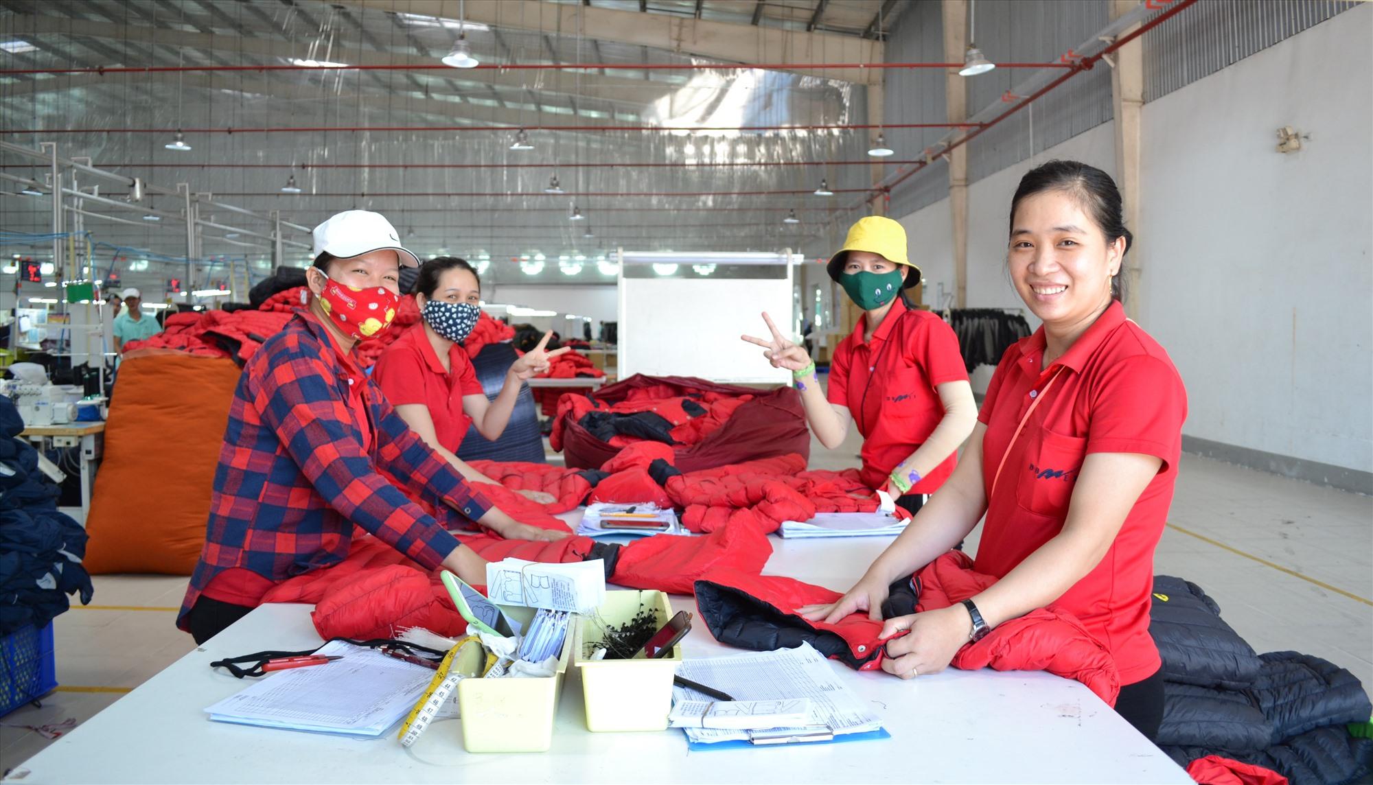 Kinh tế Thăng Bình đang chuyển dịch theo hướng tăng tỷ trọng ngành công nghiệp. Ảnh: QUANG VIỆT
