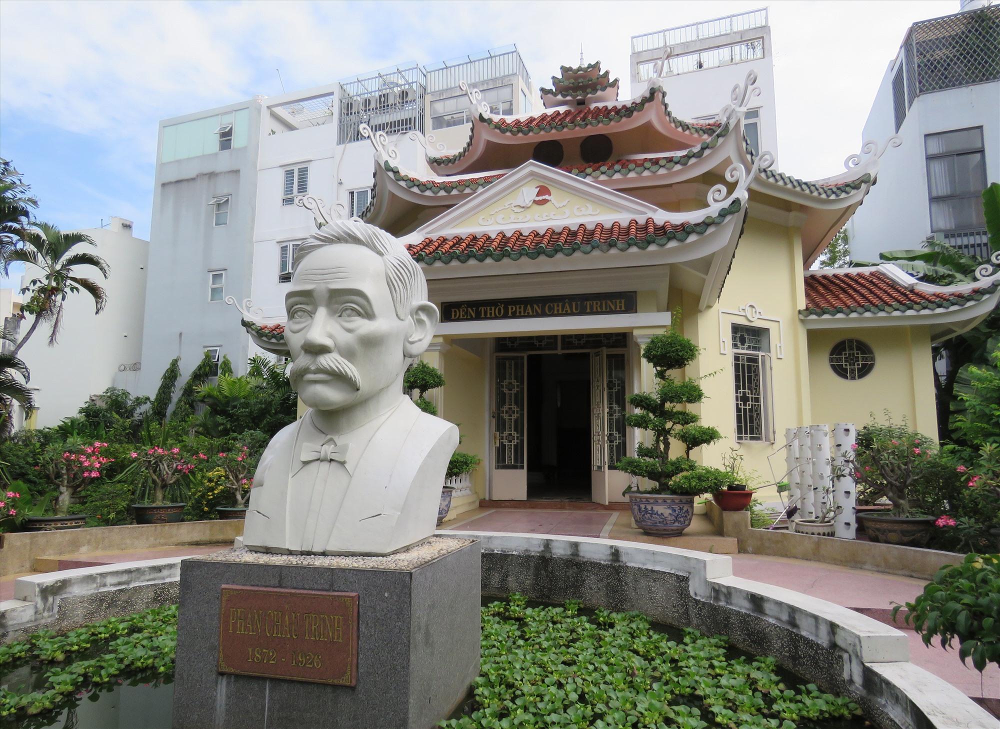 Khu lưu niệm cụ Phan Châu Trinh.