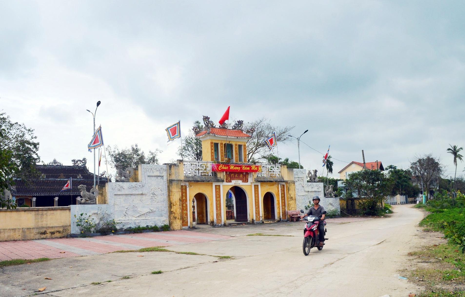 Nhiều ngôi làng xứ Quảng đang dần thay đổi